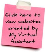 Websites created by My Virtual Assistant