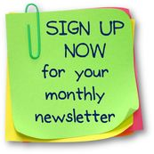 Sign up now to receive your monthly newsletter from My Virtual Assistant
