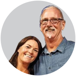 Sarah and Trevor Lay, Castle European Ltd - motorhome importers